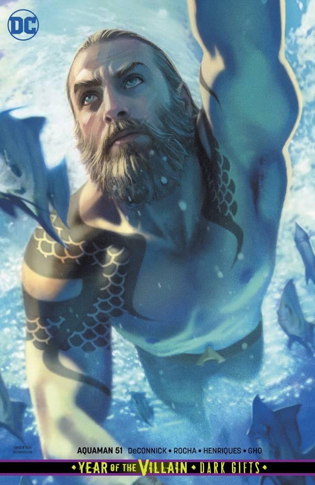 Aquaman  #51 CVR B Card Stock
