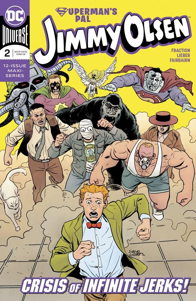 Supermans Pal Jimmy Olsen  #2 CVR A