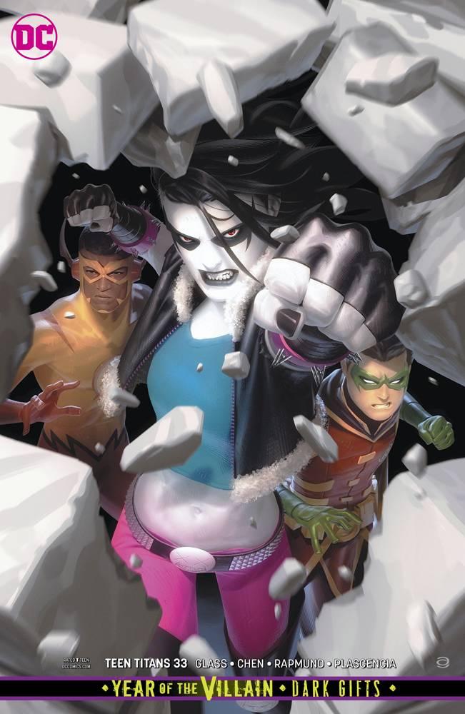 Teen Titans  #33 CVR B