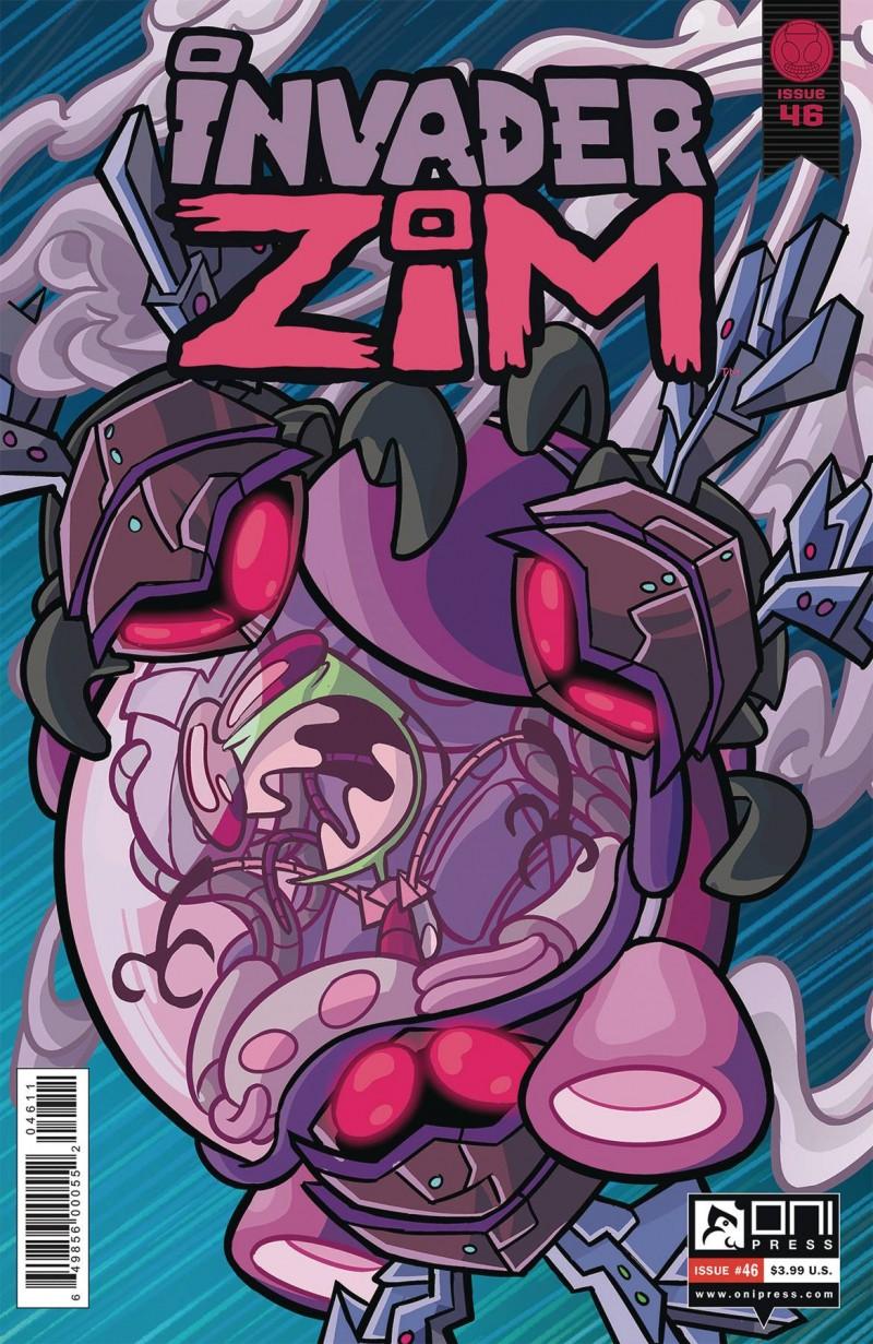 Invader Zim #46 CVR A