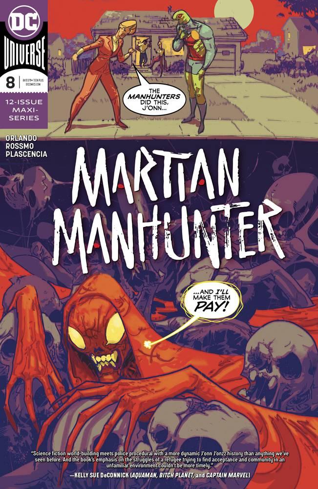 Martian Manhunter  #8 CVR A