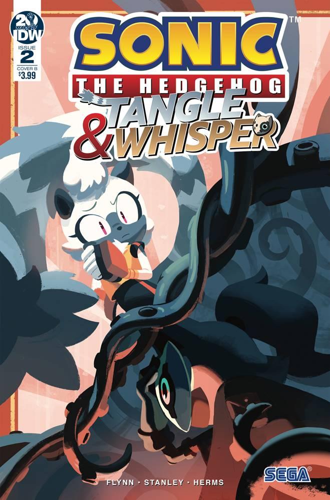 Sonic The Hedgehog Tangle and Whisper #2 CVR B Fourdraine