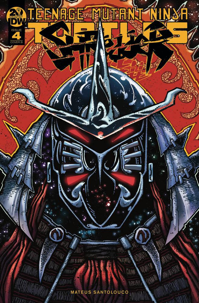 TMNT Shredder In Hell #4 CVR B Eastman