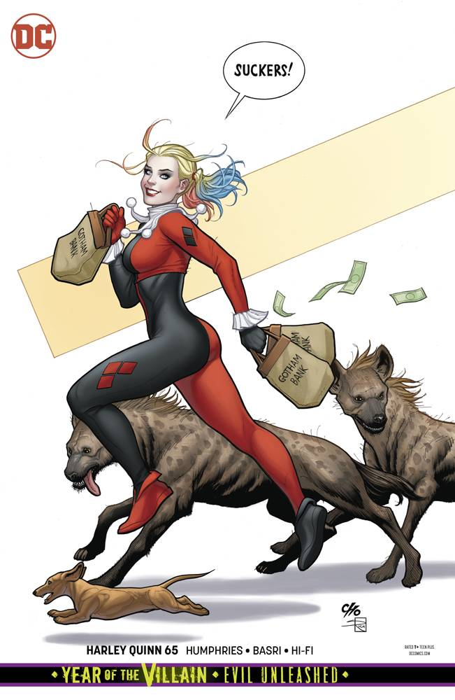 Harley Quinn  #65 CVR B
