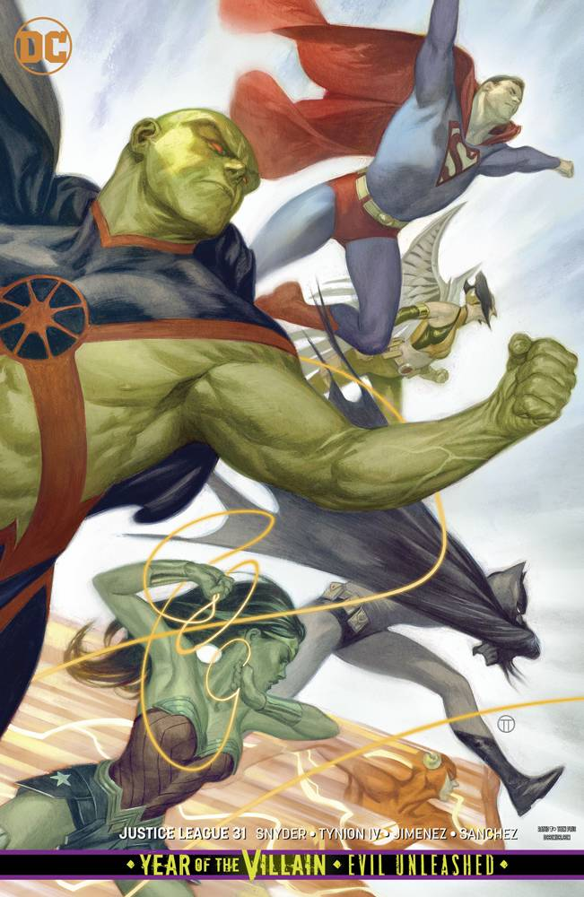 Justice League  #31 CVR B