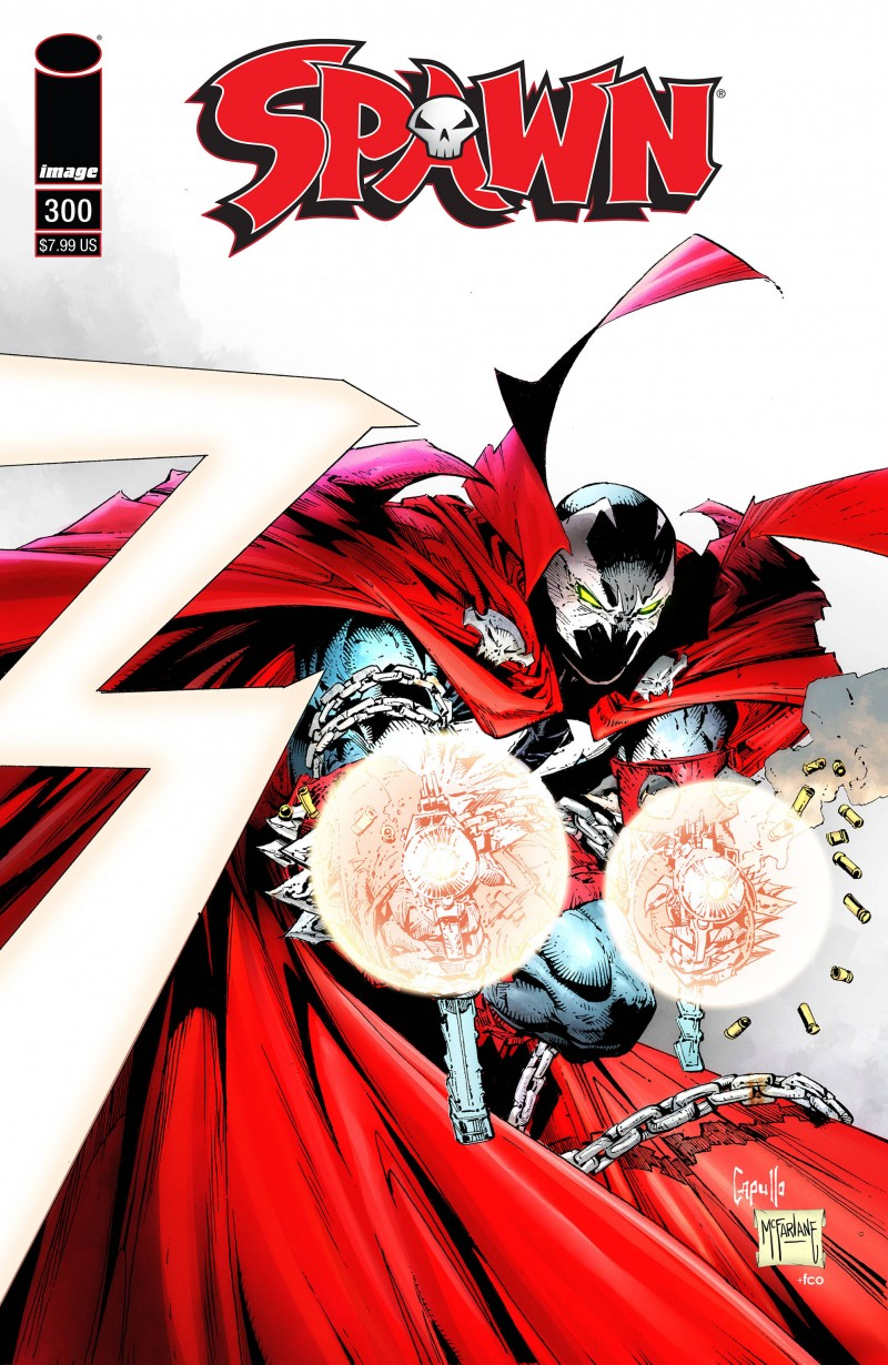 Spawn #300 CVR E Capullo and McFarlane