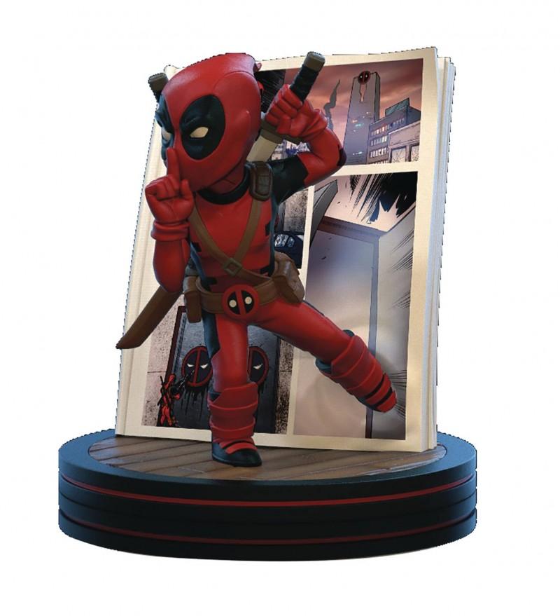 Q-Figure Marvel Deadpool 4D Diorama
