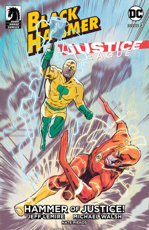 Black Hammer Justice League #3 CVR A Walsh