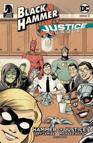 Black Hammer Justice League #3 CVR E Shaner