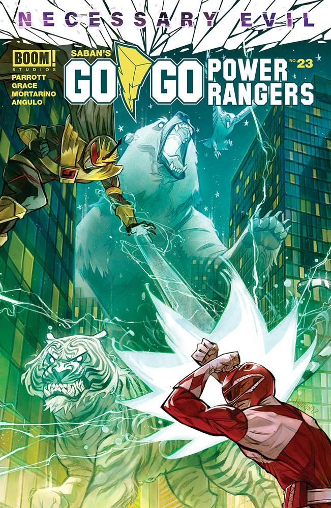 Go Go Power Rangers #23 CVR A Shavrin