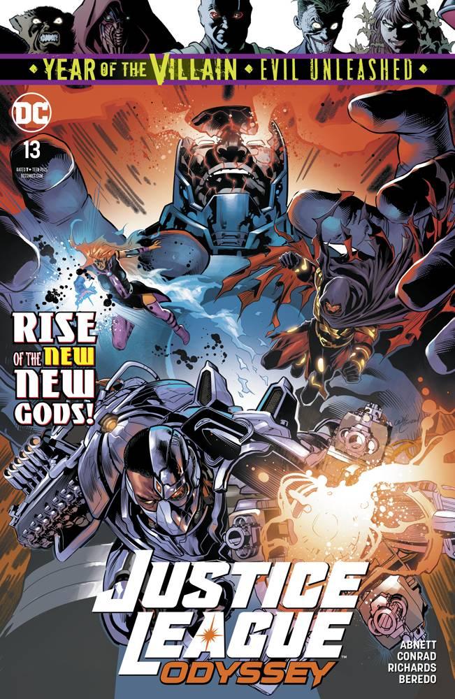 Justice League Odyssey #13 CVR A