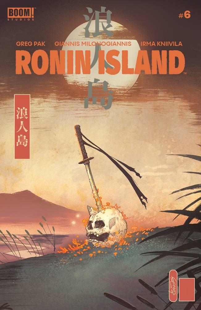 Ronin Island #6 CVR A Milonogiannis