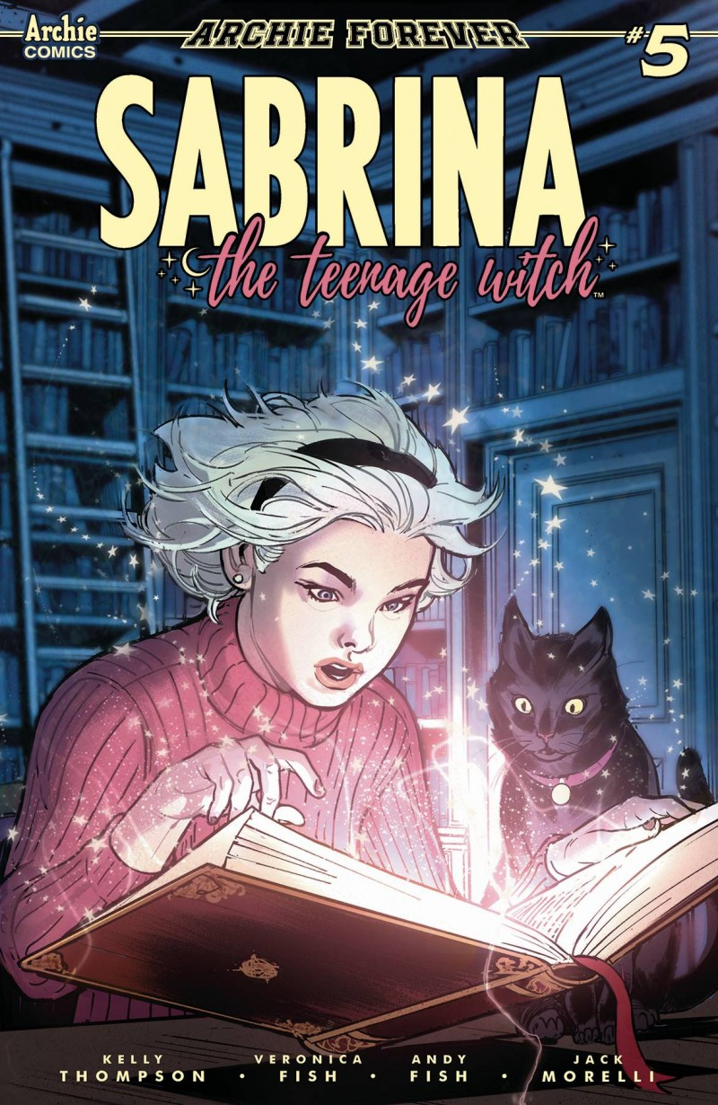 Sabrina Teenage Witch  #5 CVR C Ibanez