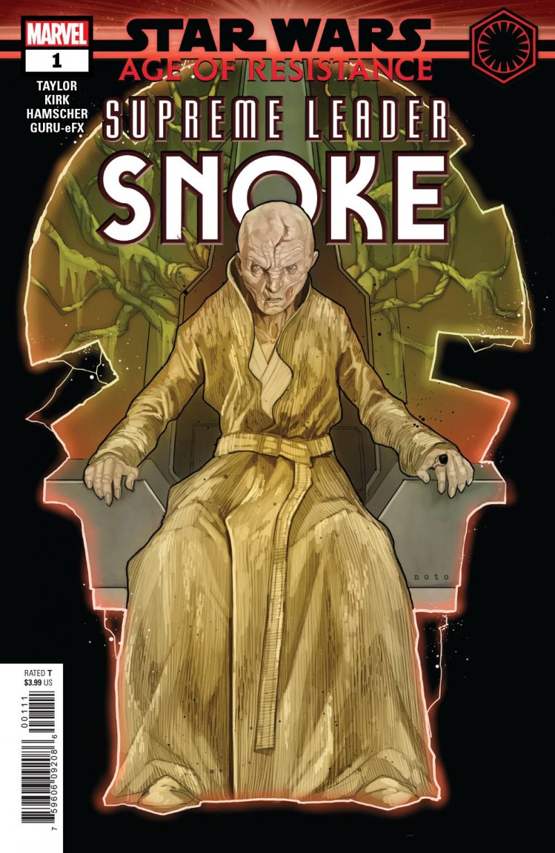 Star Wars Age of Resistence One-Shot Supreme Leader Snoke