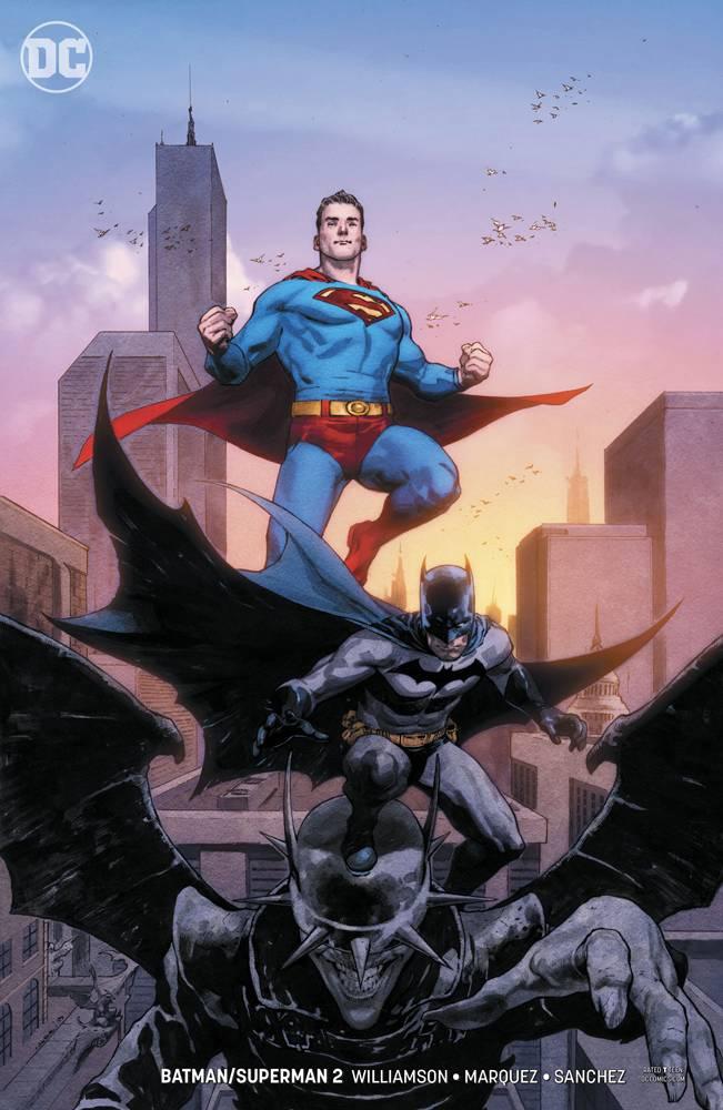 Batman Superman  #2 CVR B Card Stock