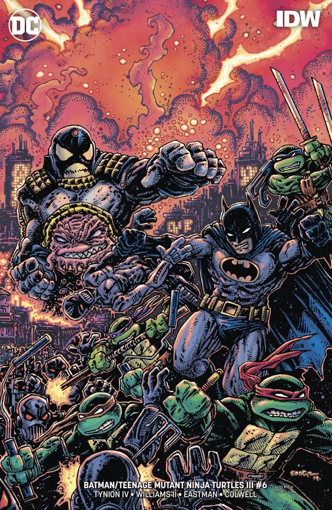 Batman Teenage Mutant Ninja Turtles III #6 CVR B