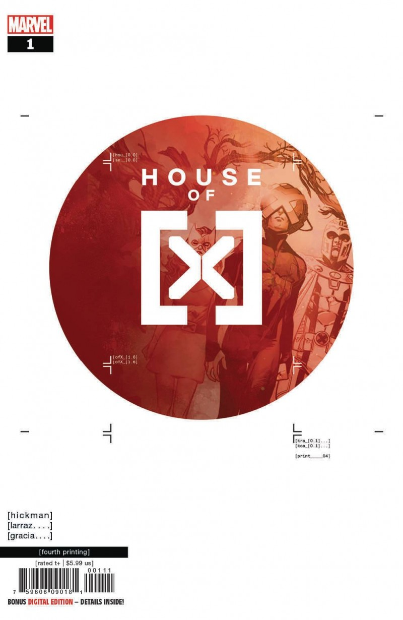House of X #1 Fourth Printing Larraz