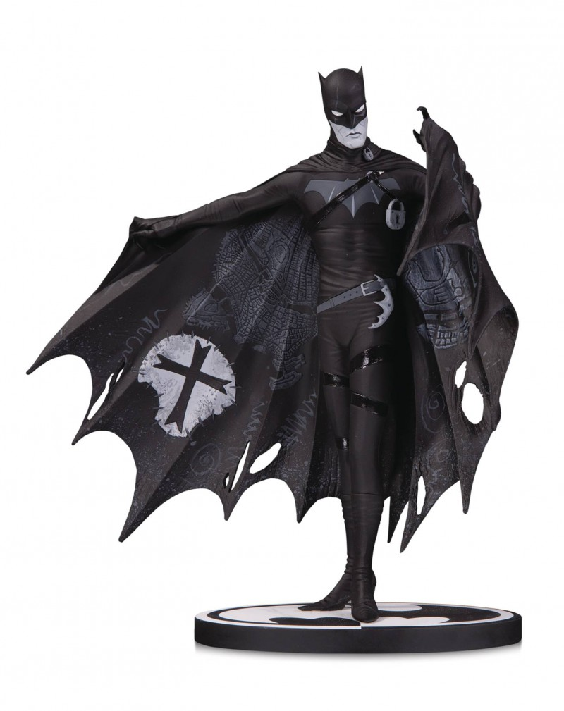 DC Statue Batman Black and White by Gerard Way