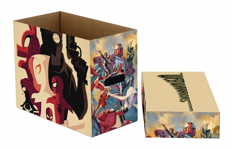 Marvel Comics Short Box Web Warriors
