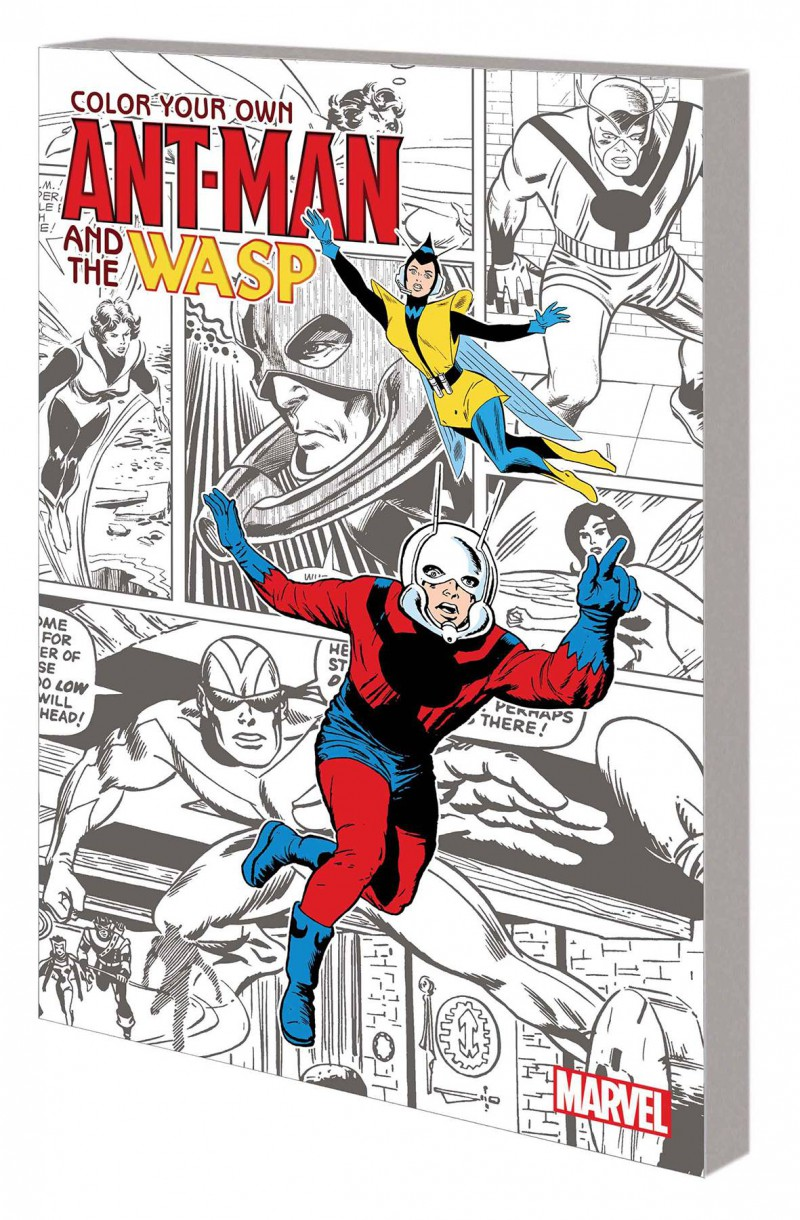 Marvel Coloring Book Ant-man and Wasp