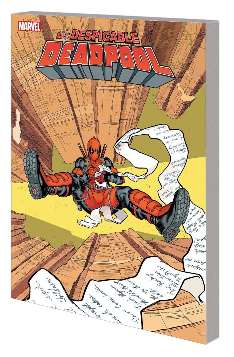 Despicable Deadpool TP V2 Bucket List