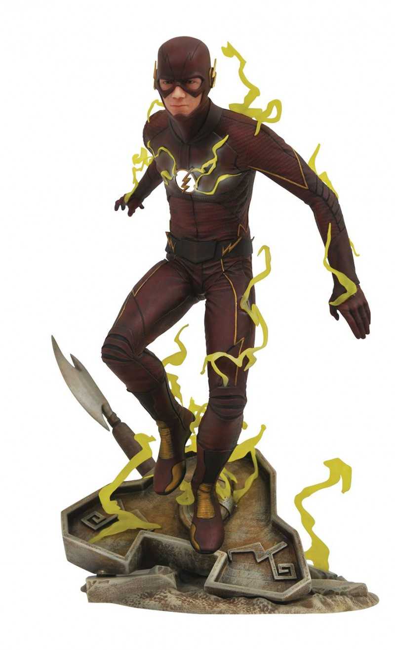 DC Gallery PVC Figure CW Flash