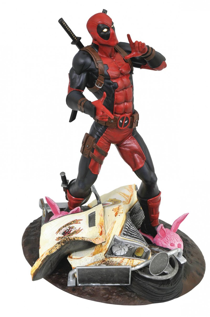 Marvel Gallery PVC Figure Taco Truck Deadpool