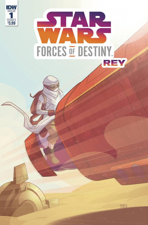 Star Wars Adventures Forces of Destiny Rey CVR A