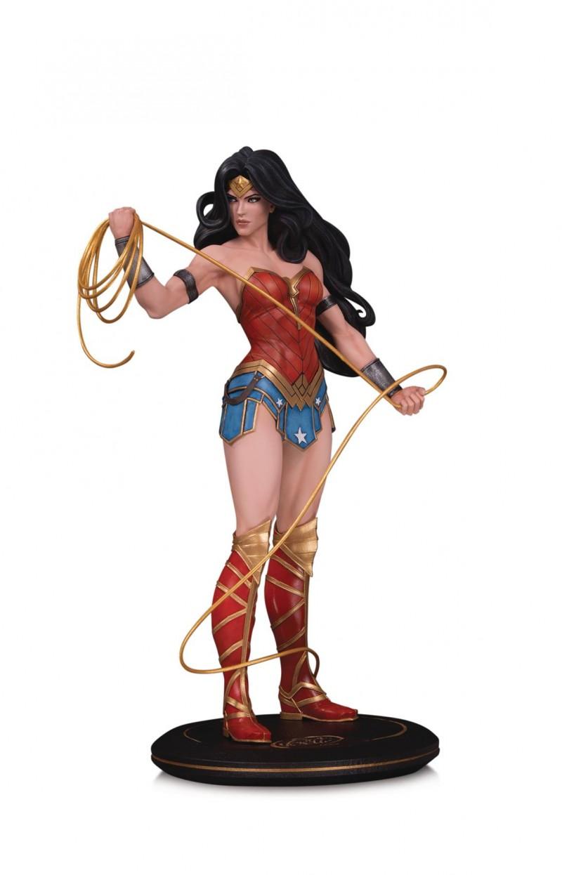 DC Statue Cover Girls Wonder Woman By Joelle Jones