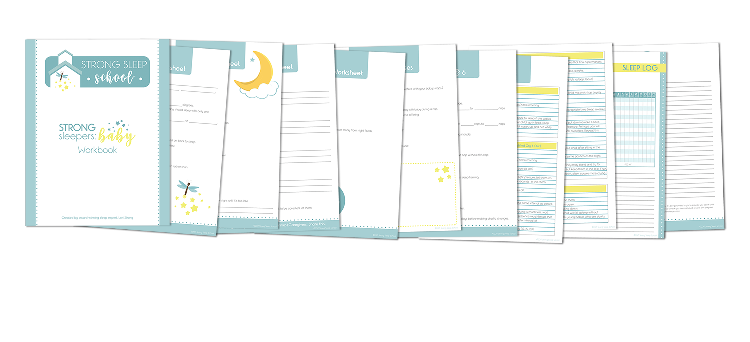 comprehensive workbook helps you create your own sleep plan!