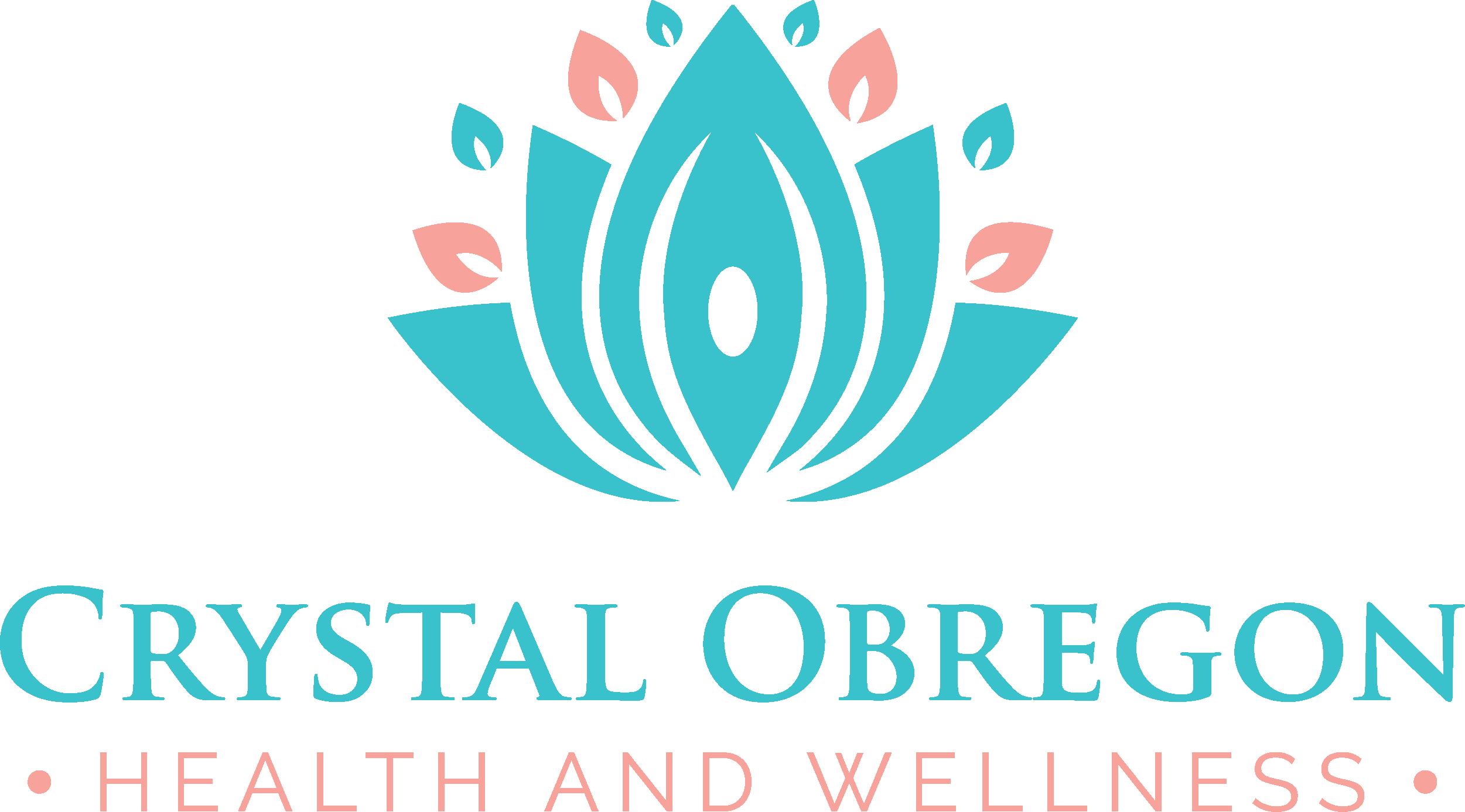 Crystal Obregon Health and Wellness Logo