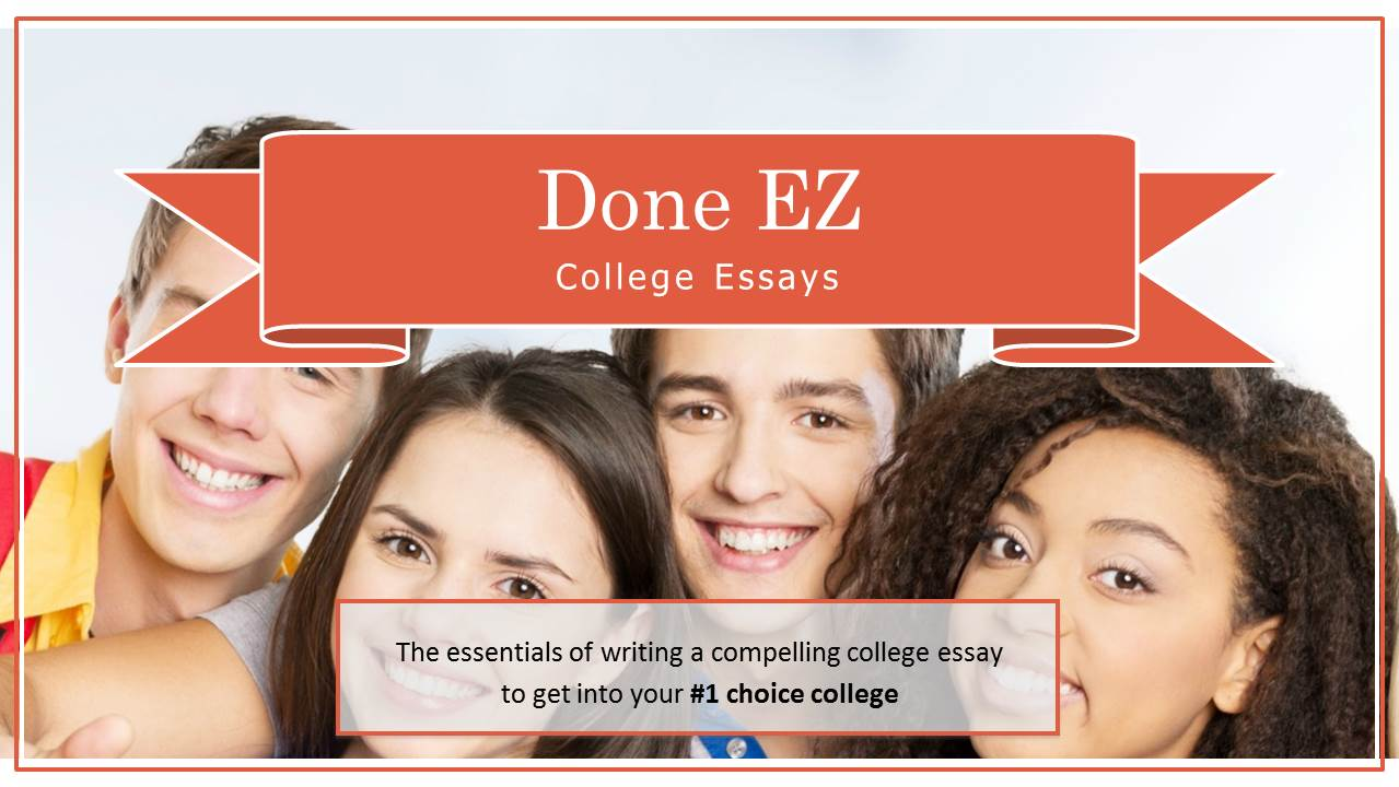 essays done Crafting an unforgettable college essay is the essay interesting do the ideas flow logically does it reveal something about the applicant.