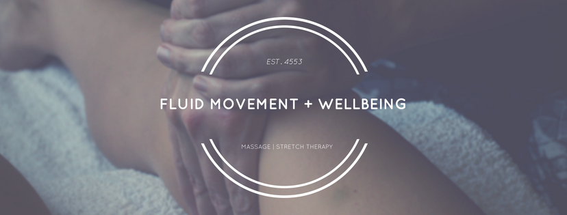 Fluid Movement + Wellbeing Online Logo