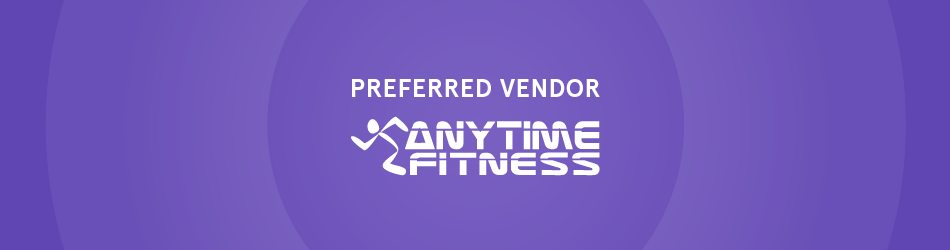 Zogics is Proud to be a Anytime Fitness Preferred Vendor