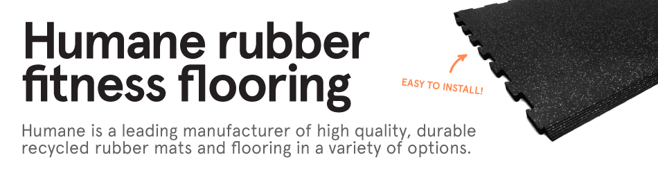 Humane Rubber Fitness Flooring Solutions, Guardian and Supersport