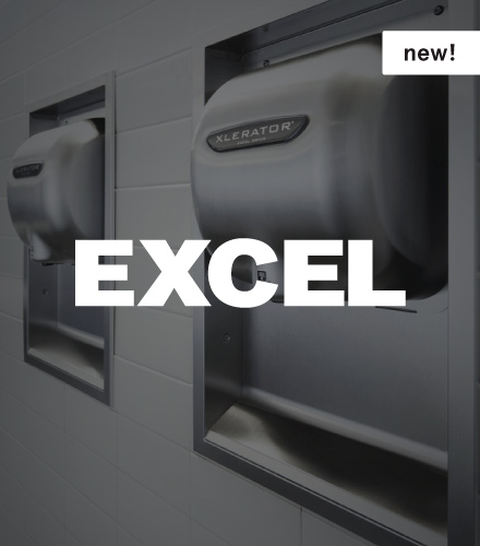 Excel XLERATOR and ThinAir Hand Dryers