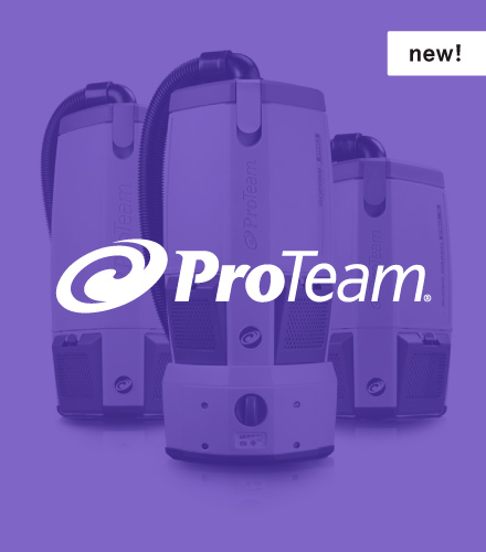 ProTeam Commercial Vacuums