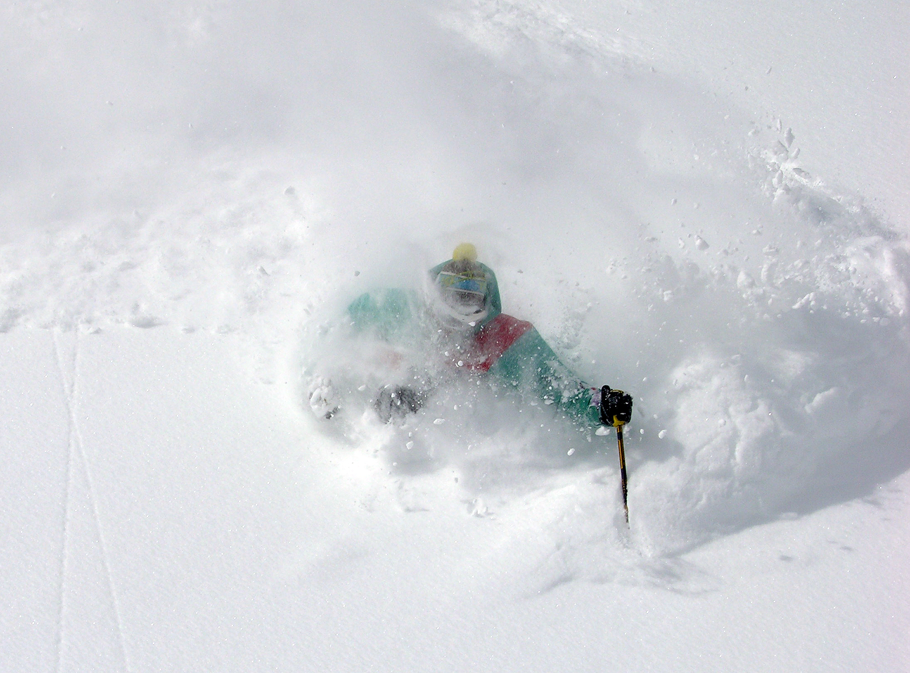 Alta Powder Goes Off In March