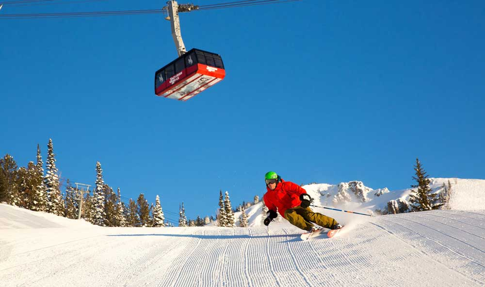 Jackson Hole steeps and snow beckon January skiers.