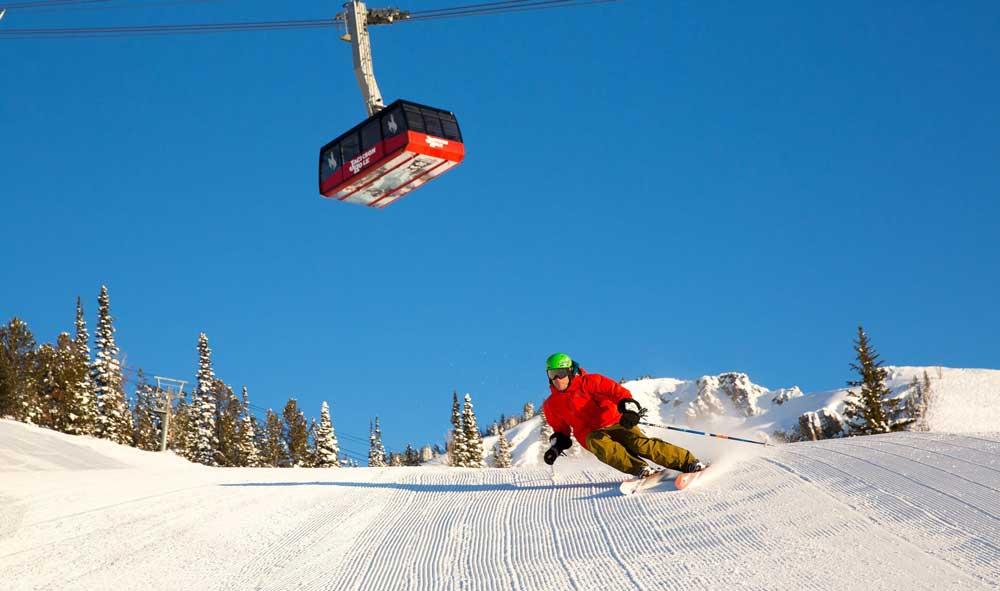Jackson Hole steeps and snow beckon January skiers.