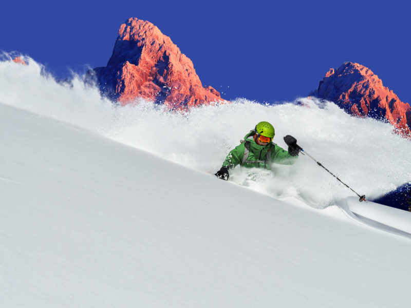 Targhee is a perfect destination for January powder seekers.