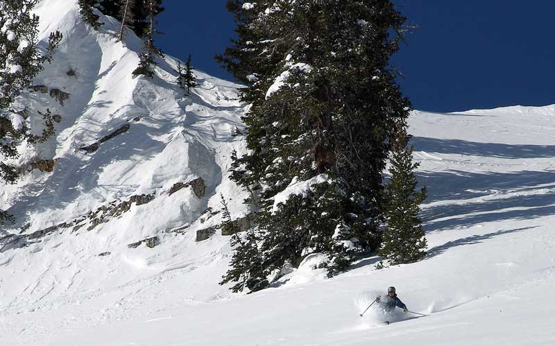 Alta is known for snow, as it wants to be