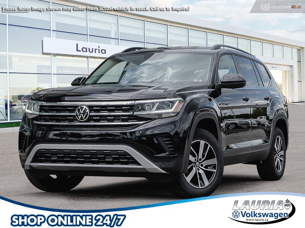 new 2021 Volkswagen Atlas car, priced at $50,043