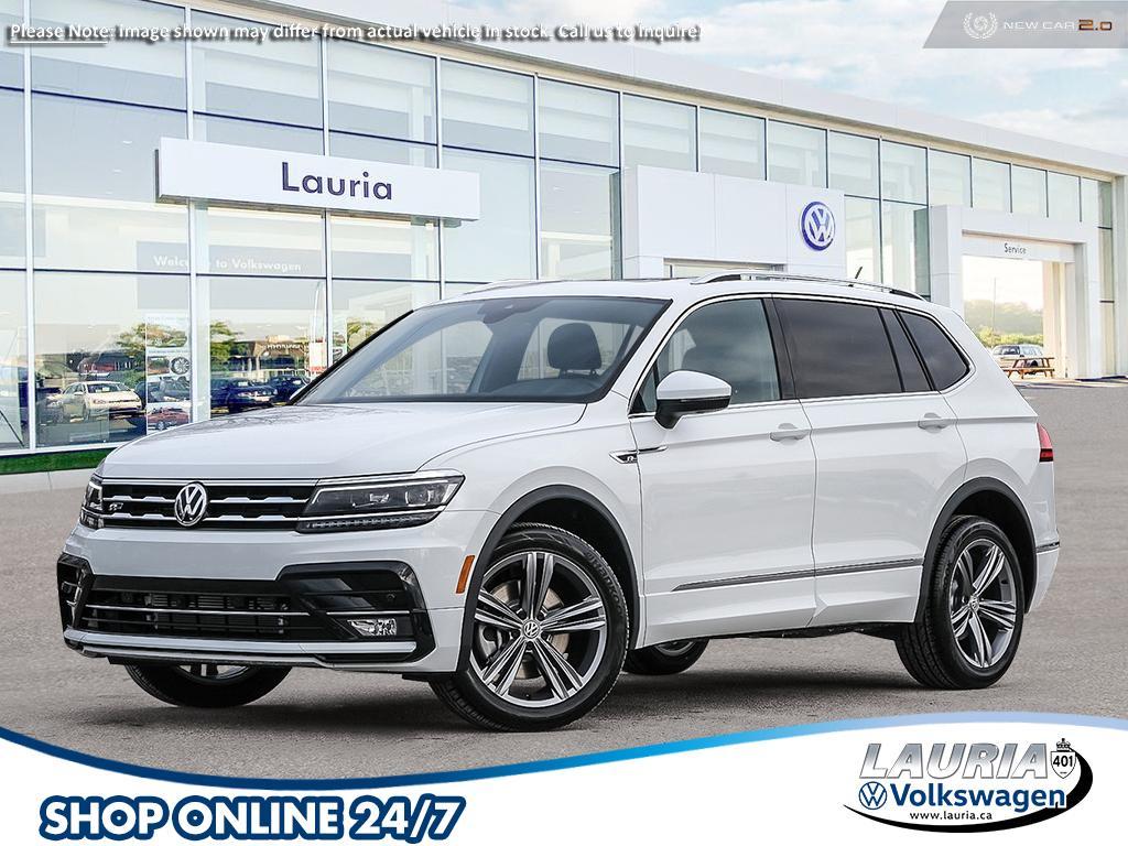 new 2021 Volkswagen Tiguan car